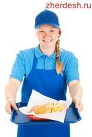 Помощник повара в ресторан быстрого питания
