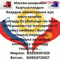 КЫРГЫЗСТАНГА ЖУК АЛАБЫЗ!!! 8 (985)072 59 27