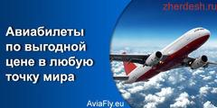 Авиабилет 6900
