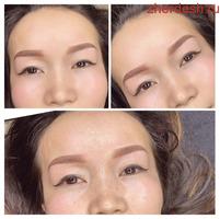 Перманентный макияж бровей и губы
