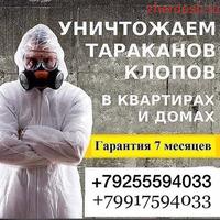 ДЕЗИНФЕКЦИЯ КЛОП ТАРАКАН МОСКВА И МОСКОВСКАЯ Область ДАРЫ ОЗУ САТЫЛАТ ГАРАНТИЯ 100% РЕЗУЛЬТАТ!!!!